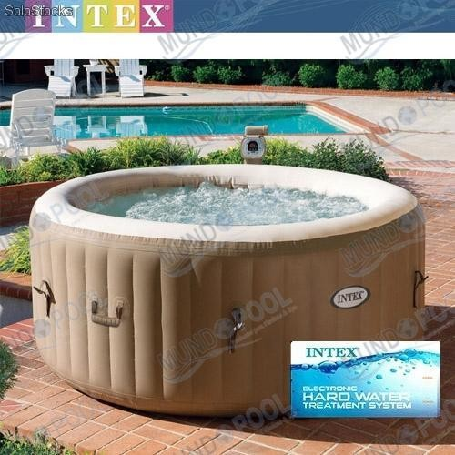 Spa hinchable intex bubble therapy sistema antical for Spa carrefour