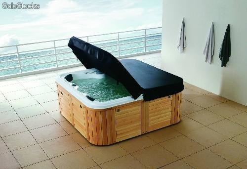 Spa jacuzzi exterior at 001 for Pileta jacuzzi exterior