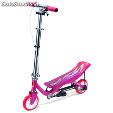 Space Scooter Patinete Junior rosa SPAC189051