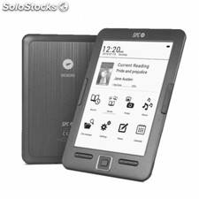 "Spc 5608N eBook Reader Dickens 6"" 8GB+lpi"