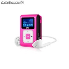 Spc - 8468P MP3 8GB Rosa, Color blanco reproductor MP3/MP4