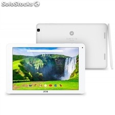 "Spc Tablet 10,1"" ips qc 1GB ram-8GB 3G Blanca+lpi"