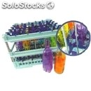 Special dishwasher rack for n. 25 bottles with water conveyor - mod. 100142 -