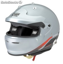 Speed carbon 8860 MY2013 casco omp light grey talla s