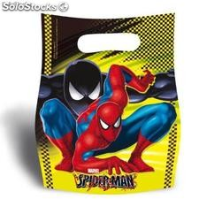 Spiderman Ensemble de 6 anniversaire Sacs