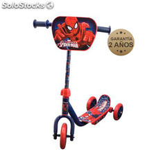 Spiderman patinete 3 ruedas