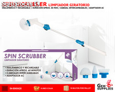Spin scrubber limpiador giratorio - WE HOUSEWARE