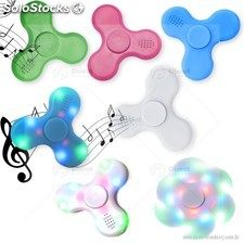 Spinner Bluetooh com Led Anti Stress