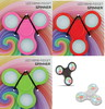 Spinner Fidget con luces led, varios colores