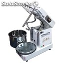 Spiral mixer with removable head lift and bath famag-mod. ln6s/230 rib-dough per