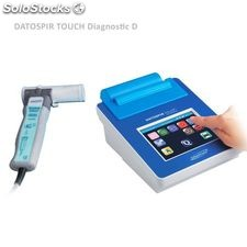 Spirometer mit Touch-Screen Datospir Touch Diagnostic. Diagnostic D