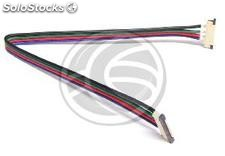 Splice con cavo da 20 cm per RGB LED strip di 12 mm (VH08)