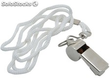 Sports whistle in stainless steel
