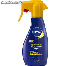Spray solar hidratante nivea 20 fps medio 300ML - nivea - 4005808473854 -