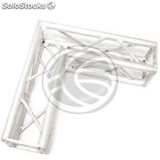 Square Truss 150mm silver aluminum 90-degree angle (XT24-0002)