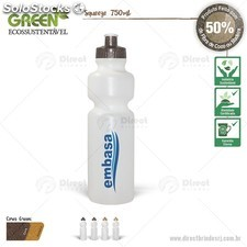 Squeeze Green 750ml (c/tampa Coco ou Madeira)