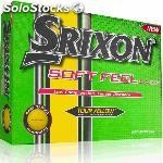 Srixon soft feel yellow docena 57982