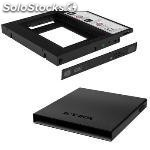 """Ssd/hdd 2.5"""" removable frame ssd/hdd 2.5"""" negro"""