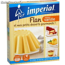 St 68G preparation flan vanille bou. Imperial mont blanc