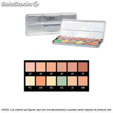 Stage Line - make up palette. Grande 12 tonos