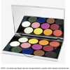Stage Line - sphere eye shadow palette 12. Sombras mates