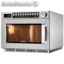 Stainless microwave oven-mod. cm1529a-programmable digital controls-structure