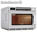 Stainless microwave oven-mod. cm1929a-programmable digital controls-structure