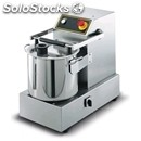 Stainless steel cutter - mod. d26 2v gt - two-speed - sits on steel stand - bowl