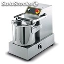 Stainless steel cutter - mod. d26 b - countertop version - bowl capacity lt 14,5