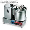 Stainless steel cutter - mod. perugia 6 vv - speed control - bowl capacity lt