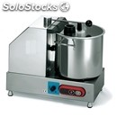 Stainless steel cutter - mod. perugia 9 vv - speed control - bowl capacity lt