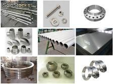 stainless steel flange round bar wire rod fasteners tube pipe fittings forging