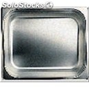 Stainless steel gastronorm 1/2 trays - mm 325x265 stainless steel gastronorm 1/2