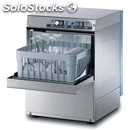 Stainless steel glass washer-mod. g3520's-with drain pump-single phase-clearance
