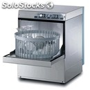 Stainless steel glass washer - mod. g3520r - single phase supply - clearance max