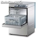 Stainless steel glass washer - mod. g3527 - single phase supply - clearance max