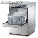 Stainless steel glass washer - mod. g3527r - single phase supply - clearance max