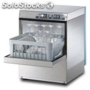 Stainless steel glass washer-mod. g4026-with drain pump-single phase-clearance