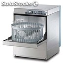 Stainless steel glass washer - mod. g4026r - single phase supply - clearance max