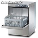 Stainless steel glass washer - mod. g4032 - single phase supply - clearance max