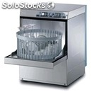 Stainless steel glass washer - mod. g4032r - single phase supply - clearance max