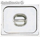 Stainless steel lid for gastronorm containers lid for gastronorm 1/6 containers