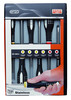 Stainless steel screwdriver sets BE-9881i_   BE-9881I - Jgo 6...