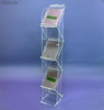 Stand Brochure Holder stairs - clear plexiglas - Photo 1