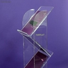 Stand Brochure Holder stairs - clear plexiglas - Photo 2