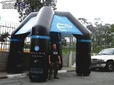 stand inflavel, tendas inflaveis