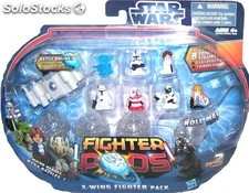 Star Wars. Figuritas Fighter pods