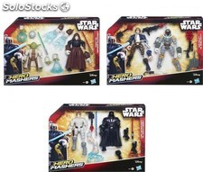 "Star Wars. Pack de 2 figuras ""Hero Mashers"""