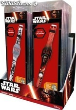 Star Wars SWE7021 Reloj digital LED colores surtidos