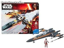 Star Wars. X-Wing Fighter + figura Poe Dameron